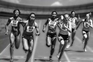 Wettkampfsituation Sprint